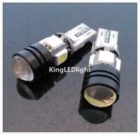 EMS/DHL Free! 200pcs T10 W5W 5 led smd 4pcs 5050SMD+1pcs1.5W Wedge CANBUS OBC ERROR FREE led Light Bulb Lamp White Car Auto LED