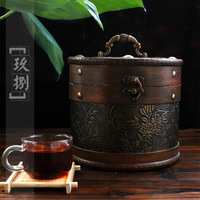 Dried tea PU er cooked tea loose tea premium quality gift tea hoarded