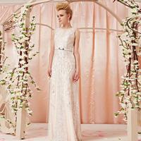 Creative tocsins aesthetic o-neck lace paillette evening dress of marriage dress 2013 30390