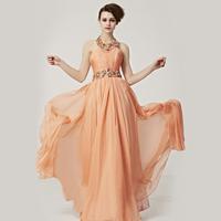 Creative fox 2013 diamond noble halter-neck evening dress sexy formal dress bride formal dress 80251