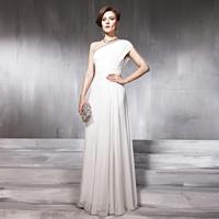 Creative tocsins ! long design oblique ruslana korshunova star evening dress red carpet welcome evening dress 56861