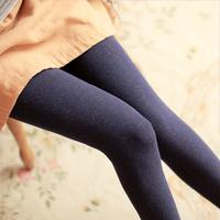Autumn and winter plus size plus velvet thickening legging women's step long trousers