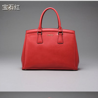 Famous Brand 100% Genuine leather Women handbag  high quality women messenger bag shoulder bag 20140212E