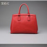 Famous Brand 100% Genuine leather Women handbag  high quality women messenger bag shoulder bag 20140212E