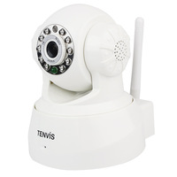 IP Camera Tenvis JPT3815W indoor Wireless F1033B WiFi Security CCTV Dual Audio WPA Free DDNS 1/4 CMOS Baby Monitor