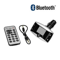 New 2014 Car Kit MP3 Wireless Bluetooth Handsfree Player FM Transmitter SD MMC USB Free Shipping