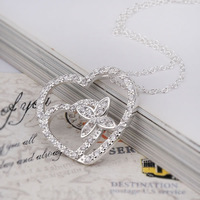 Free Shipping 925 Silver fashion jewelry Necklace pendants Chains, 925 silver necklace KDN378 fashion necklace vhtp zdmc