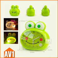 Kids Alarm Clock, Super silent movement with lights in the dark. table clock for children room.