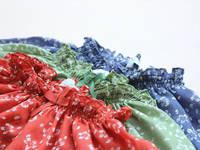 CS4023  free shipping  girls cotton  print floral bow half sleeve  blouse , print blouse 6pcs/lot