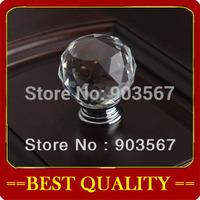 wholesale 20mm crystal handle,cabinet handle furniture handles Cabinet Knobs Zinc Alloy Drawer Pulls crystal Knobs