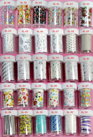 Cool 111pc/design/lot  1M*4cm  2014 new arrival nail supplier decoration nail art Transfer foil sticker