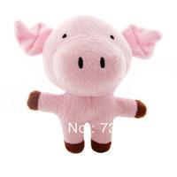 Forest Serise Animal Shape Plush Toys With Voice -- Pig
