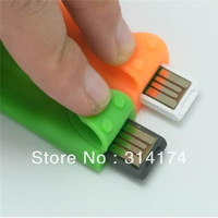 2014 hot sale pretty silicone LED 8G memory USB watch