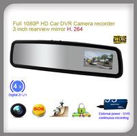 3 inch FULL HD 1080P Night Vision Motion Detection Car Camera H.264 car DVR Camera record