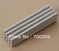 100pcs Neodymium Disc Mini 3 X 2mm Rare Earth N35 Strong Magnets Craft Models Free shipping cost.