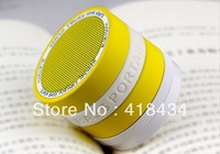HOT SALE 150PCS Mini Camera Lens Portable Hands-free Wireless Stereo Bluetooth Speaker For iPhone iPad Samsung With TF card slot
