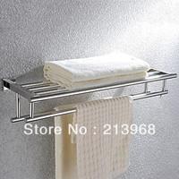 Contemporary Bathroom Stainless Steel Towel Rack