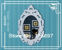 Hot European Style Creative Bathroom Mirror, Water-proof Mirror,Washable & Healthy Mirror Decorative Mirror