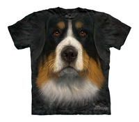 Free shipment    bernese mountain Women summer short-sleeve  dog T-shirt