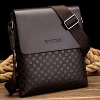 Fashion Business bag Men messenger bags classical Leather Bag Phone Holder Cigarette bag Inside Men's practical bag swagger bag
