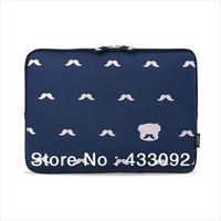 Fashion Cartoon Bear Computer Bag Notebook Soft Bag Smart Cover for Ebook Bag for 12 13 14  inch Laptop Bags & Cases