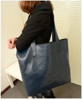 2013 shoulder bag fashion brief women's bag black big bags picture package women's handbag