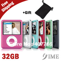 32GB 1.8inch 3rd mp4 player ,2014 hot mp4 player, gift bag,FM radio+Ebook,3th gen mp4 player, Free Drop Shipping+Wholesale