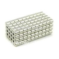 50pcs Neodymium Disc Mini 4X 4mm Rare Earth N35 Strong Magnets Craft Models Good