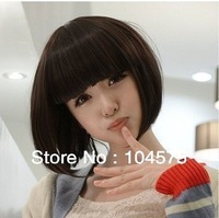 Pack mail wig short hair girl bobo the whole female high temperature wire
