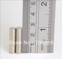 50pcs Neodymium Disc Mini 6X1mm Rare Earth N35 Strong Magnets Craft Models