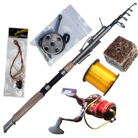 Set carbon small 2.1 2.4 lazyboneses - - 2.7m automatic fishing rod spring pole