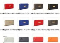Select all style women PU leather wallet double zipper wallet wholesale women