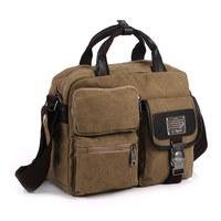 Bags 2013 casual trend canvas travel bag handbag messenger bag man make it new