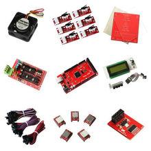 Reprap RAMPS1.4+Mega2560,5xA4988 stepper driver, LCD2004 Smart controller,heatbed set MK2a&more for 3D Printer Prusa Mendel