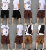 2014 new brand men Men's Shorts Cotton Shorts Summer Autumn Brand Men half Denim Pan beach Men's jeans