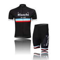 2014 Newest S-XXXL Free Shipping Tour of France Bianchi Team Pro Cycling Jerseys Short Sleeve Suit/Bicycle Shirt, Pants,Jerseys