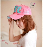 Free Shipping NYC Unisex Letter Hats Fashion Summer Casual Caps Korea Baseball Capes/Hats Sunny Hats