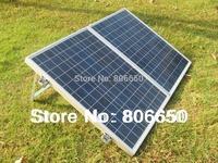 100 Watt 18V Poly portable Folding solar panel for 12v battery,  RV boat,car  free shipping