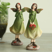 Rustic decoration resin doll home decoration wedding gift 1