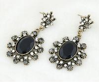 Fashion fashion vintage gem elegant stud earring