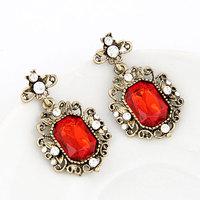 Fashion brief fashion gorgeous gem elegant stud earring