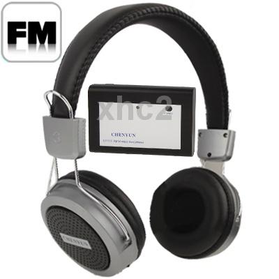 auscultadores de fone de ouvido sem fio com fm rádio