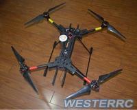 H4 Folding Quadcopter Carbon Fiber Frame & Landing Gear 680 Alien FPV For DIY drone
