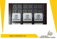 Whosale Lamina insert CNMG 120408 NR LT10  for steel hardmetal matching  standard turning tools