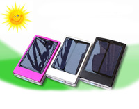 50000mAH Solar Charger 2 Port External Battery Pack For Cellphone iPhone 4 4s 5 5S 5C iPad iPod Samsung Portable Power Bank
