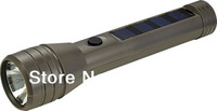 Free Shipping 6 and 10 leds solar charged flashlight torch with cheapest price for camping,working,climbing,outdoor and indoor