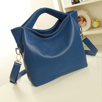 2014 women's genuine leather handbag fashion women's shoulder bag handbag large bag cross-body leather bag 11016