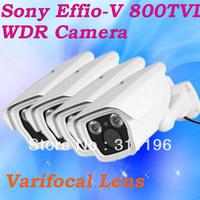 Outdoor Surveillance Camera Sony 662/663 Exview HAD CCD Effio-V WDR 800TVL 4141DSP Array IR Leds CCTV Camera