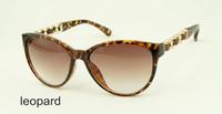 2014 New arriver chain classic sunglass cateye sunglass for women famous design sunglass