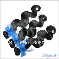 Body wave brazilian virgin hair 3pcs/lot 100g/pc  cheap virgin hair free shipping